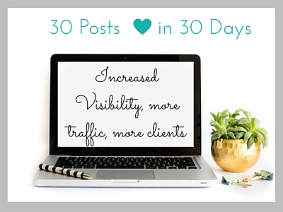 Sark emedia 30 day blogging challenge