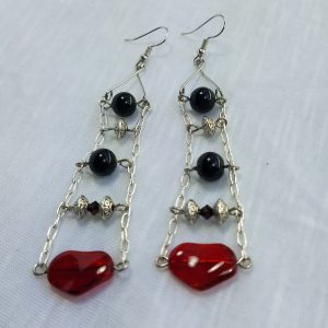 Heart Ladder Earrings