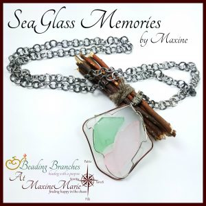 SeaGlass Memories – Necklace by Maxine