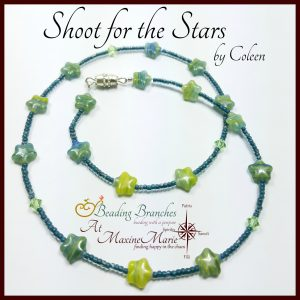 Shoot for the Stars – Necklace by Coleen