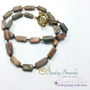 Turned to Stone Necklace by Coleen